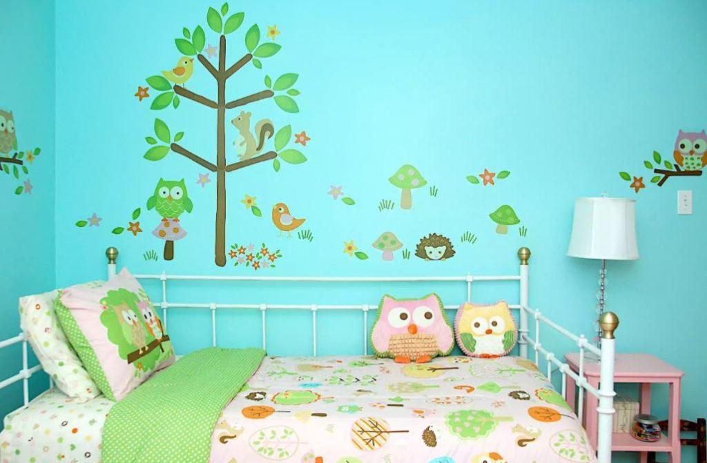 trang trí phòng trẻ em