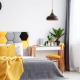 Hướng dẫn trang trí phòng ngủ với màu vàng