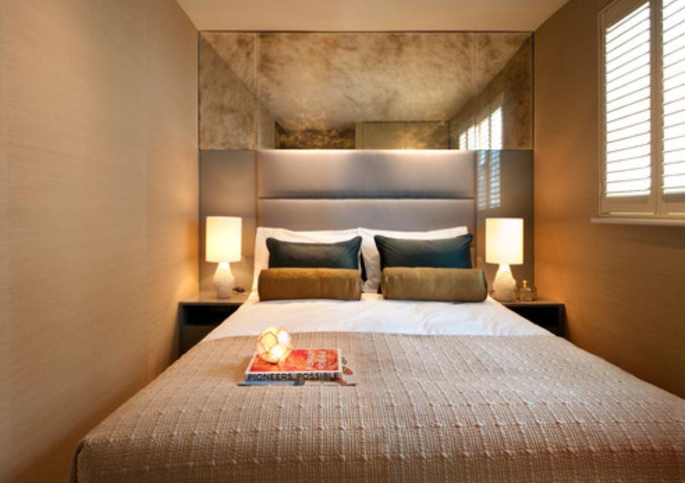 cách đặt giường trong phòng nhỏ