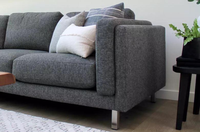 ghế sofa xám