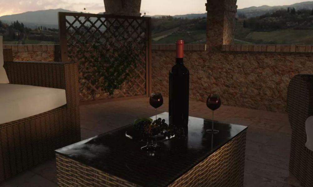 Trang trí theo phong cách Tuscan